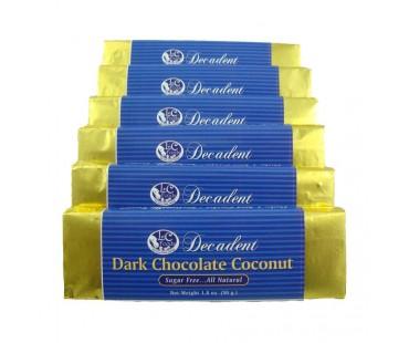 Decadent Dark Chocolate Coconut Bar