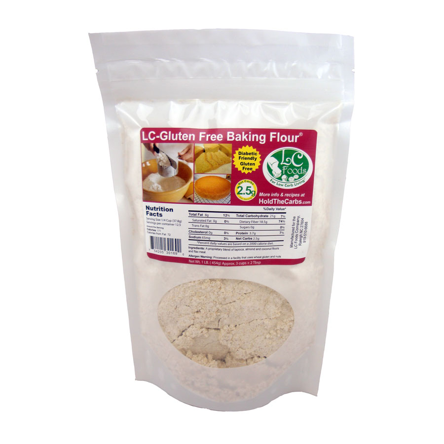 Low Carb Gluten Free Baking Flour