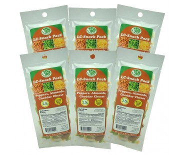 Pepper Almond Cheddar Snack Pack