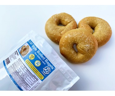 Low Carb NY Style Sea Salted Bagels 3 pack - Fresh Baked