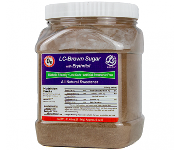 Canister Low Carb Brown Sugar Sweetener Erythritol