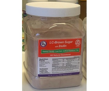 Canister Low Carb Brown Sugar Sweetener Inulin