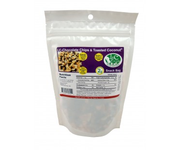 Chocolate Chip & Toasted Coconut Snack Bag