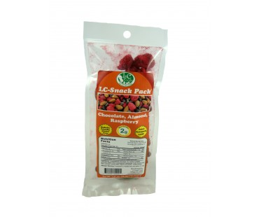 Chocolate Almond Raspberry Snack Pack