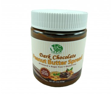 Low Carb Dark Chocolate Peanut Butter Spread