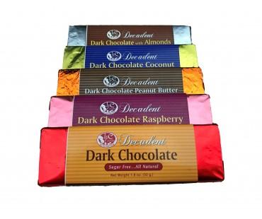 Decadent Dark Chocolate Peanut Butter Bar