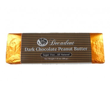 Decadent Dark Chocolate Peanut Butter Bar