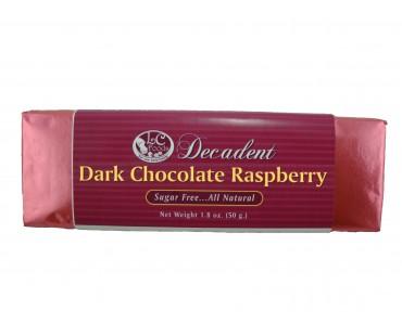 Decadent Dark Chocolate Raspberry Bar