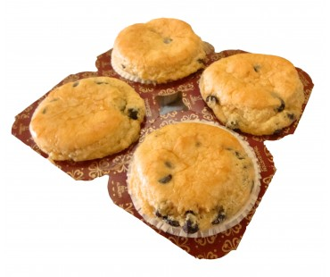 Low Carb Chocolate Chip Muffins 4 Pack - Fresh Baked