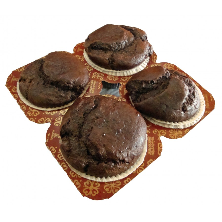 Free Low Carb Chocolate Muffins 4 Pack - Fresh Baked