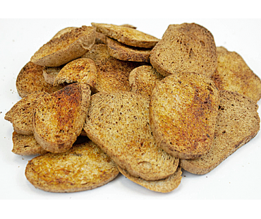 Low Carb Cinnamon & Sugar Bagel Chips - Fresh Baked