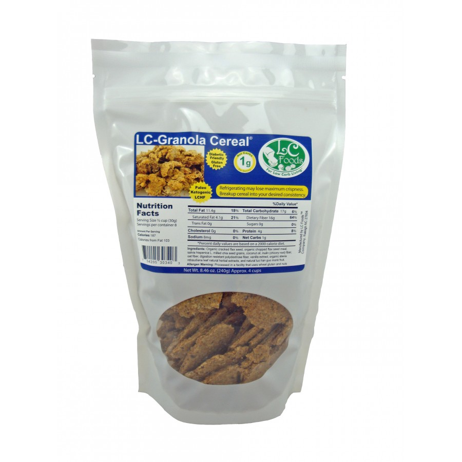 Low Carb Granola Cereal - Fresh Baked 754205303403