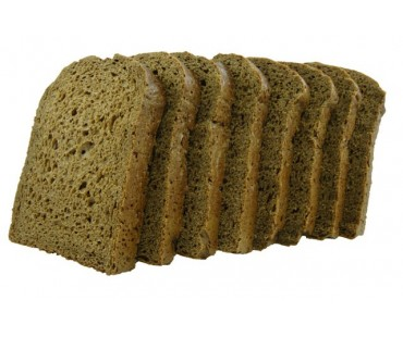 Low Carb Pumpernickel Bread 8 Slice Small Loaf - Fresh Baked