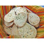 Low Carb Sour Cream and Onion Bagel Chips - Fresh Baked