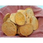 Low Carb Tomato Ranch Bagel Chips - Fresh Baked