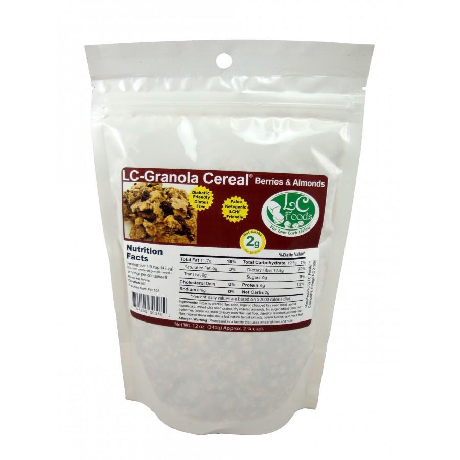 Low Carb Granola Cereal Mix
