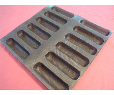 Hot Dog Roll Form Pans in 3 Sizes
