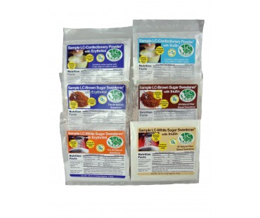 6 Piece Sugar Sweetener Blends Sampler