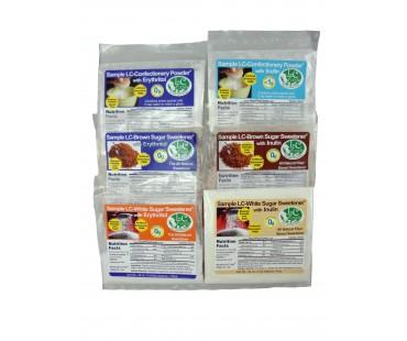 6 Piece Sugar Sweetener Blends Sampler