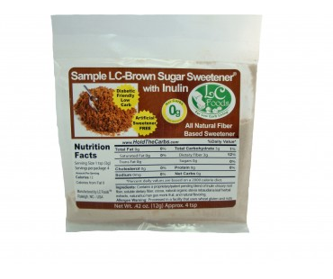 Low Carb Brown Sugar Sweetener - Inulin Sampler