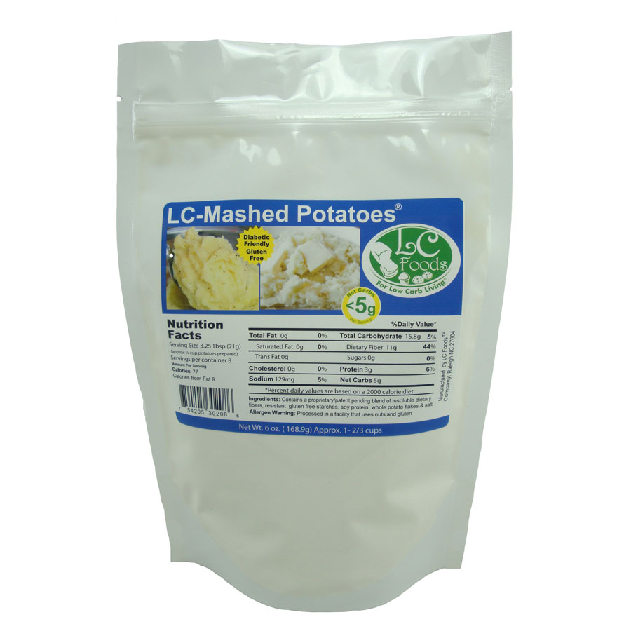 Low Carb Mashed Potato Mix