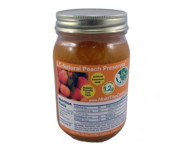 No Sugar Added Peach Preserves