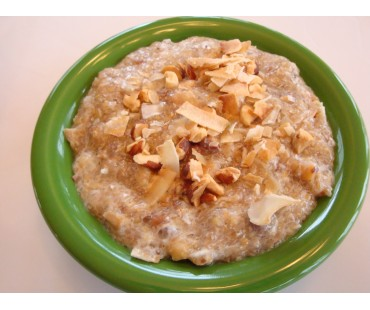 Low Carb Hot Cereal - Toasted Almond & Coconut